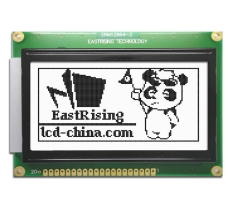 2.9 inch 128x64 Graphic LCD Display Module KS0108 Black on White ERM12864FS-2